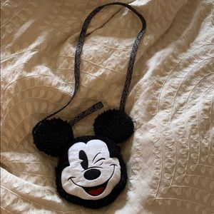 Disney Parks Mickey Mouse Pouch and Wristlet